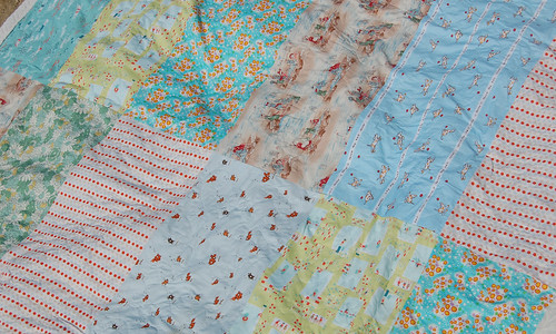 beach blanket fabrics   by SouleMama