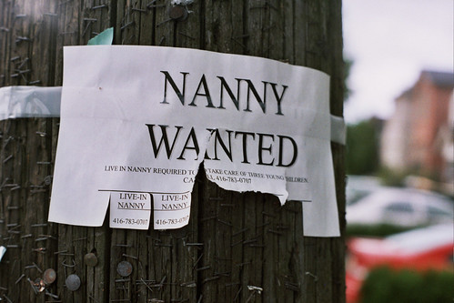 Nanny Wanted | by fortinbras