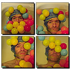 ... IN THE BATH   by Mister Higgs