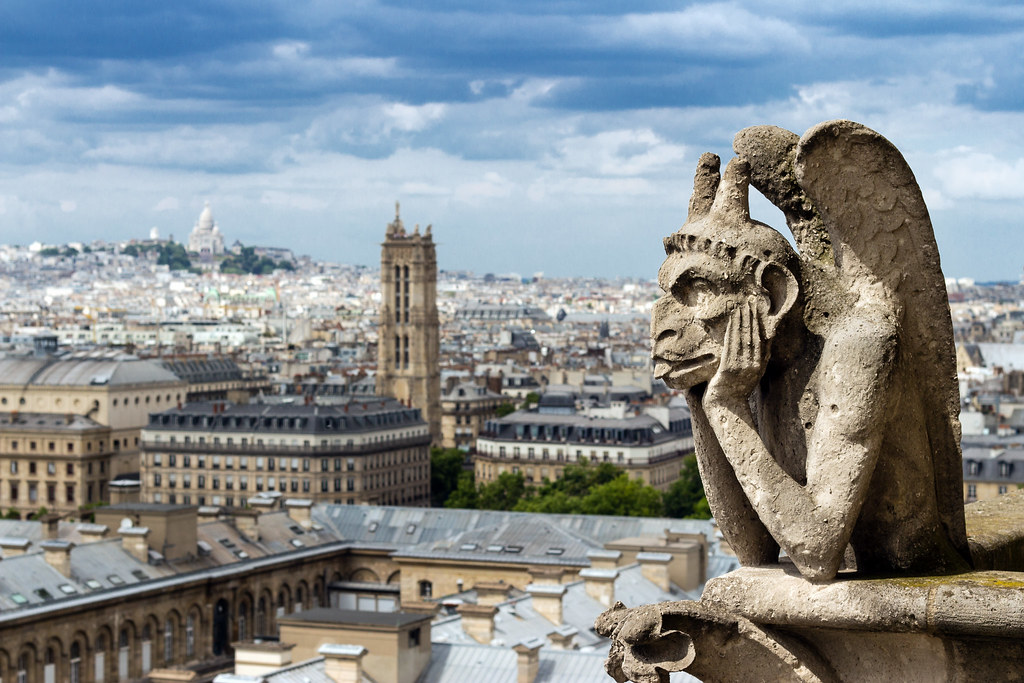 Notre-Dame de Paris, vie de gargouille // Life of gargoyle… | Flickr