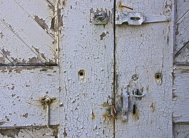 Weathered Door By the Bay