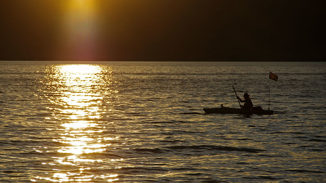 Evening on Bear Lake