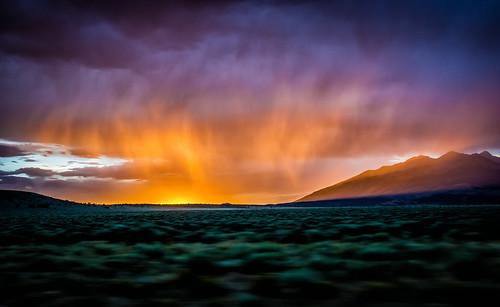 sunset summer sky cloud mountain weather evening us colorado unitedstates dusk fortgarland blancapeak