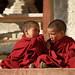 Two little monks at lamayuru manastery, Ladakh, India by magbrinik
