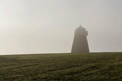 Halnaker in the fog