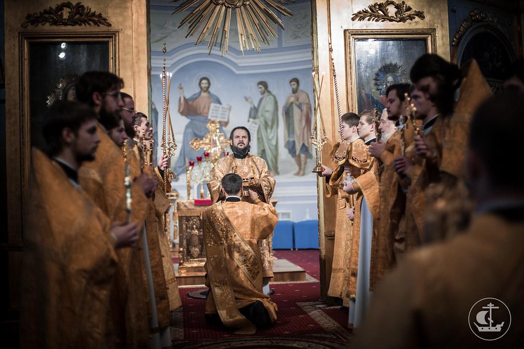 12-13 декабря 2015, Неделя 28-я по Пятидесятнице / 12-13 December 2015, 28th Week after Pentecost