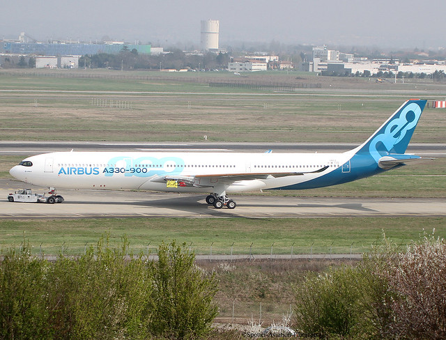 Airbus Industrie.First Airbus A330-941 NEO.
