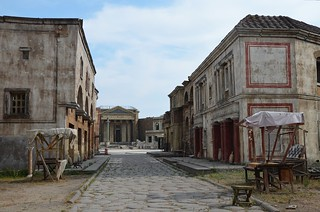 "Set of HBO's ""Rome"" at Cinecittà, Rome 