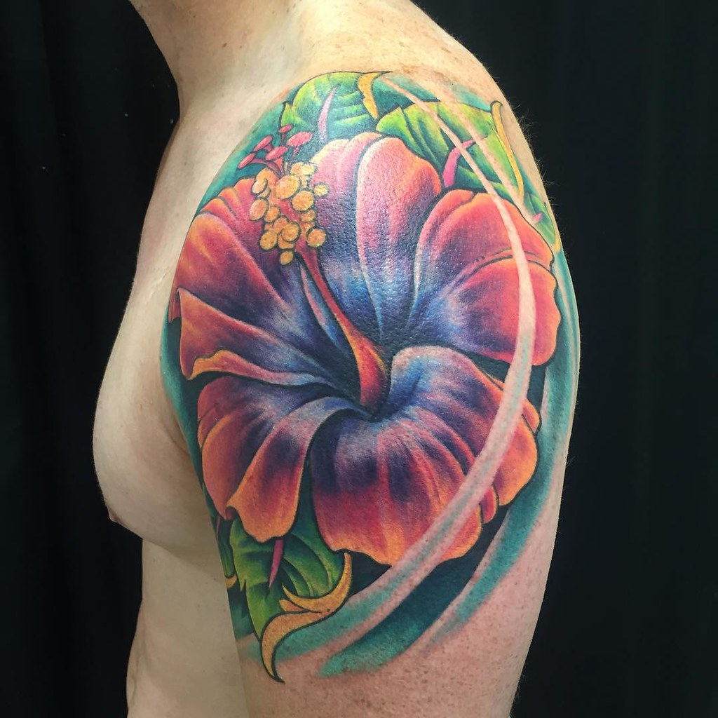 50 Gorgeous Hibiscus Flower Tattoo Meaning And Designs O Flickr