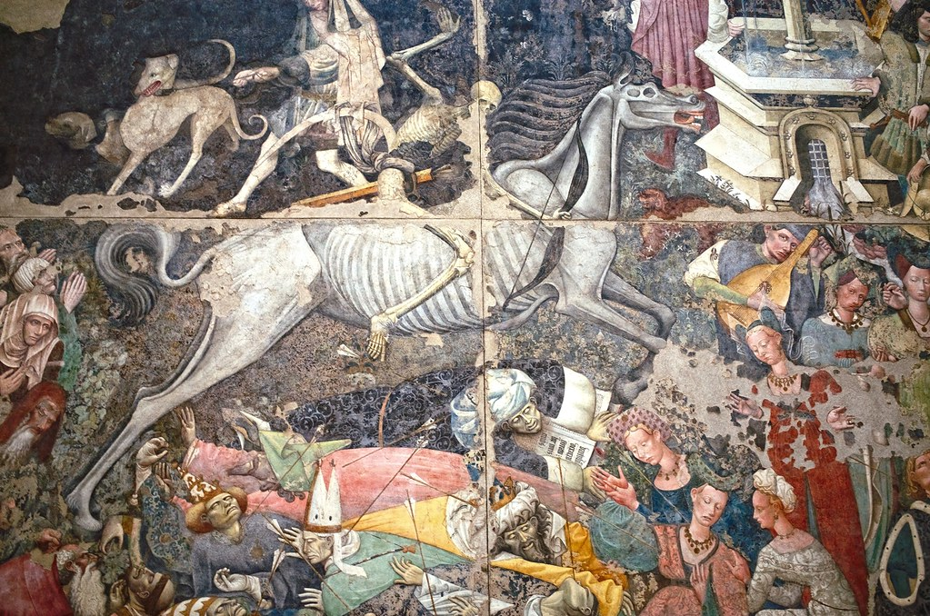 Risultati immagini per il trionfo della morte palazzo abatellis