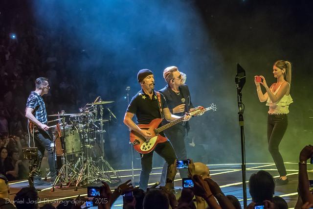 Concert de U2 à Berlin...