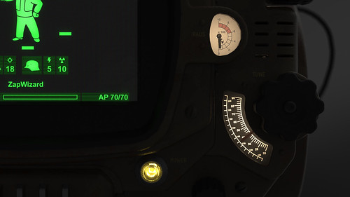 Pip-Boy 3000 Mk4, Render Series 3, Details | by ZapWizard