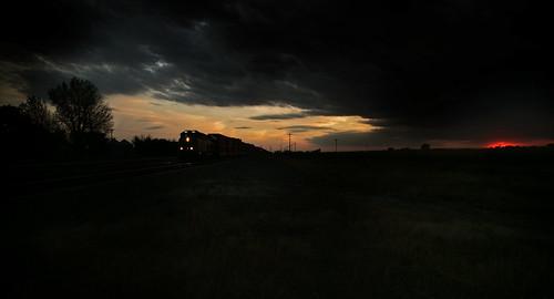 sunset sky nebraska ne nightsky bnsf centralcity centralcitynebraska bnsfnebraska