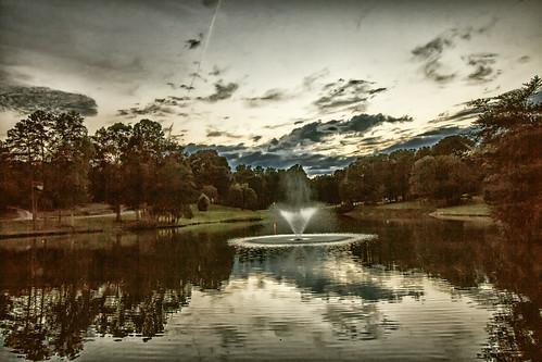 birthday sunset lake reflections twilight inmybackyard gastonia heatherlock dorameulman