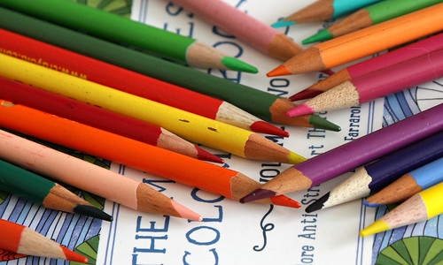 It's the little things... like coloring books   by Kerri Lee Smith