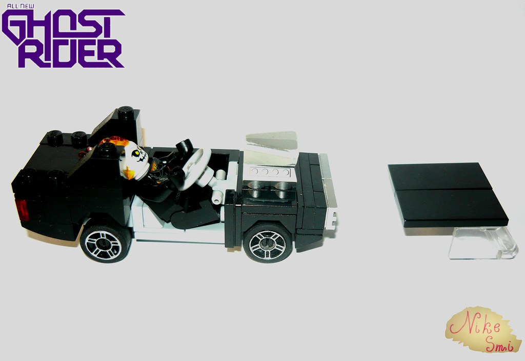 LEGO®] Ghost Rider Robbie Reyes Hell Charger  | Nikita