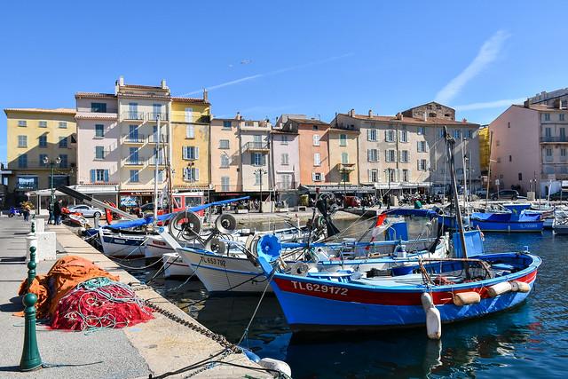 Le port de pêche de Saint-Tropez