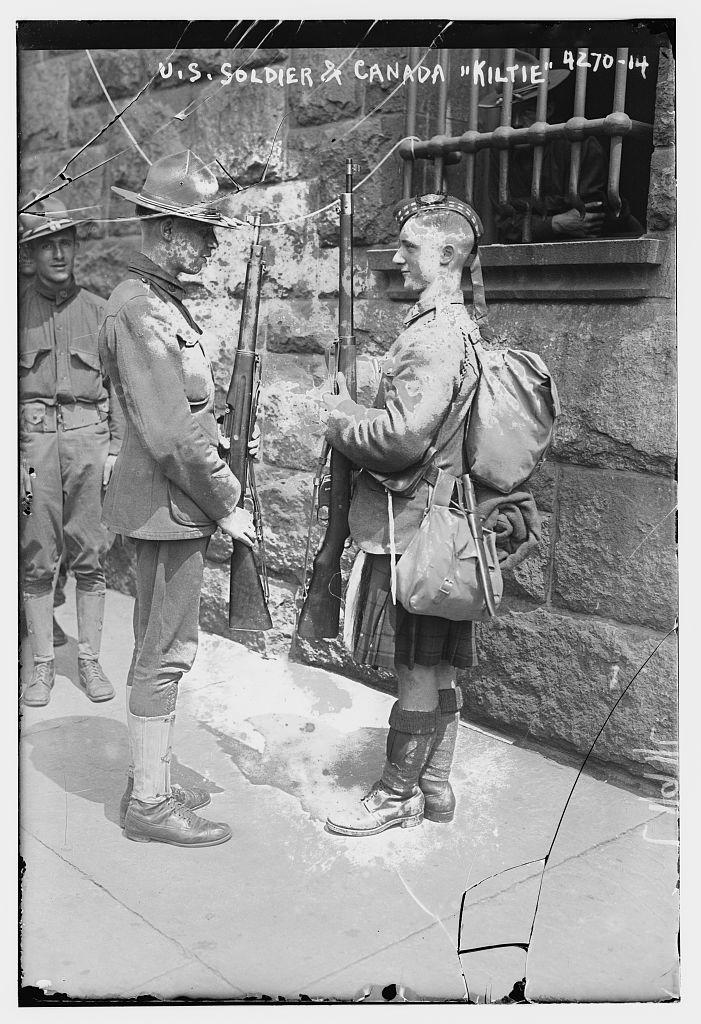 U.S. soldier & Canadian