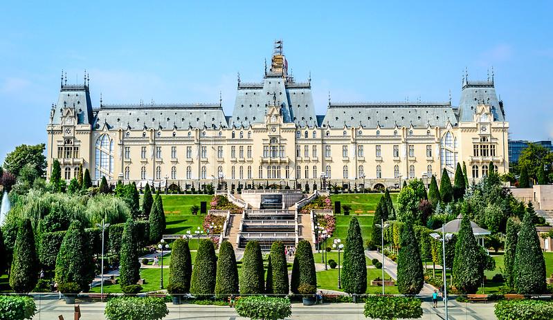 Palace Of Culture Iassy Romania