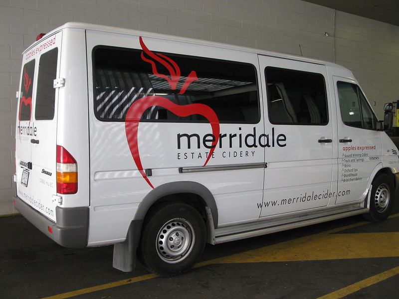 Cider Sprinter vehicle graphics