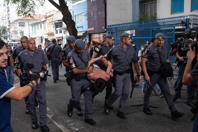 Protesto de estudantes - SP