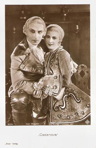 Ivan Mozzhukhin and Jenny Jugo in Casanova (1927)