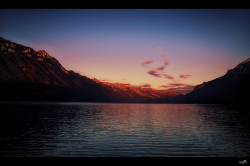 lakebrienz lonelyplanet water waterscape sunset mountains alps lake nature nationalgeographic light atmosphere mood colors canon cantonberne switzerland europe sky