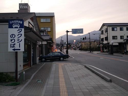 Nikkō at dusk