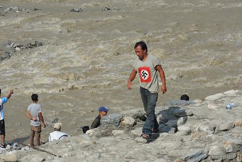 inondation nazi nepal préci personnes rivière