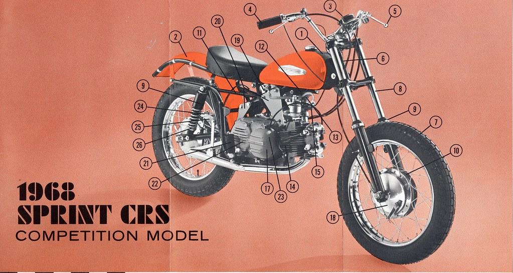 1968 Harley-Davidson Sprint CRS | g_horn | Flickr