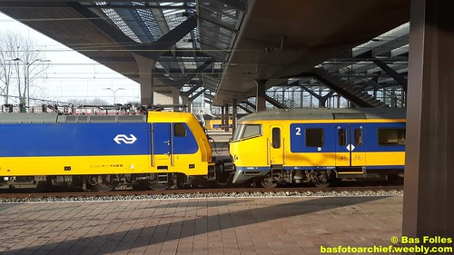 TRAXX + ICR Rotterdam   by Bas Folles
