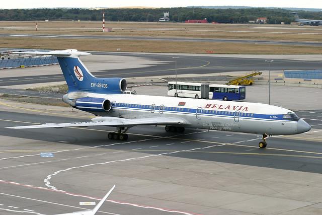 EW-85706, Tupolev 154M of Belavia.