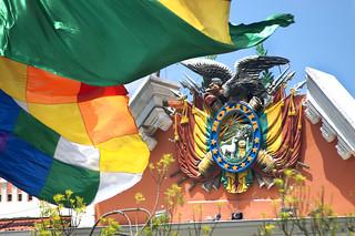 Escudo de Bolivia en el Palacio de Gobierno | by Juan_Alvaro