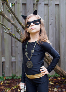 kid catwoman costume | by skirt_as_top