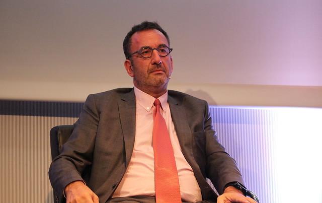 Arnaud Nourry, PDG de Hachette Livre - Frankfurt Buchmesse 2015