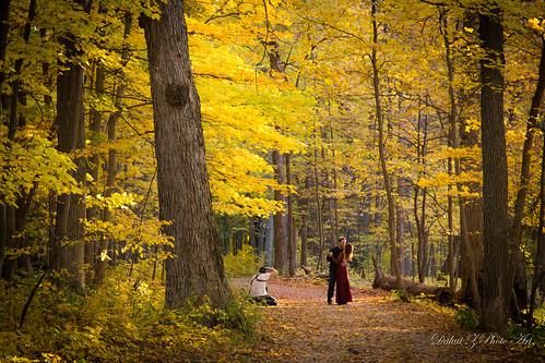 trees forest dance illinois couple photographer autumncolors trail canonef24105mmf4lisusm canoneos6d autumn2015 lakeavenuewoodseast