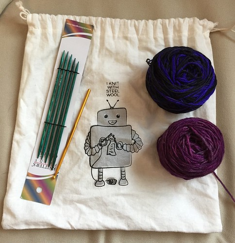 Sarah S - Knitting Projects are Key | by MetaCookbook