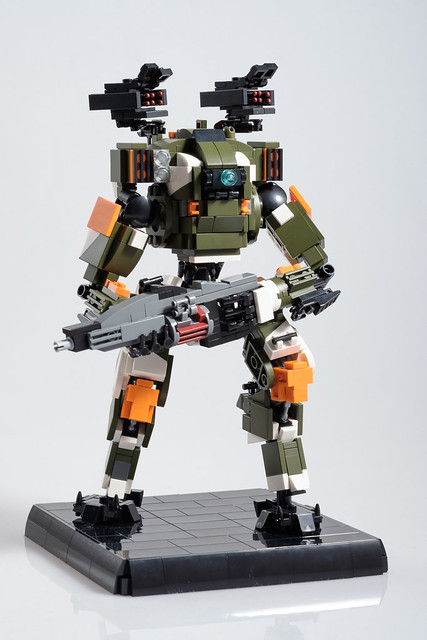"""BT-7274 (from """"Titanfall 2"""") - a photo on Flickriver"""