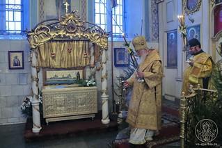 Литургия в Покровском соборе 140