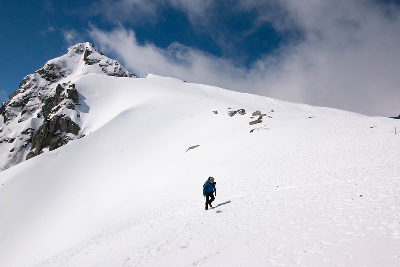 木曽駒ヶ岳の八丁坂