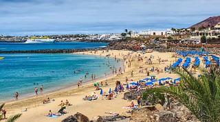 Playa Dorada. Lanzarote.
