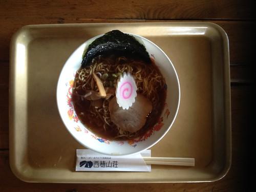 西穂高岳 西穂山荘 西穂ラーメン 醤油味 | by ichitakabridge