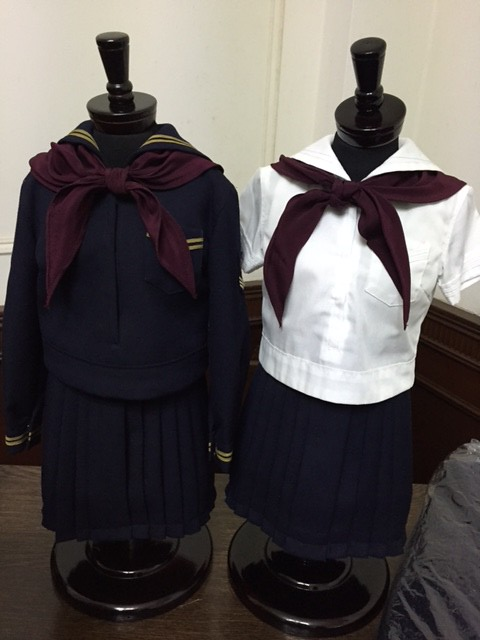 Toyo Eiwa Jogakuin School Unifrom Models