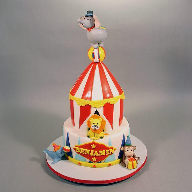 1st birthday circus theme