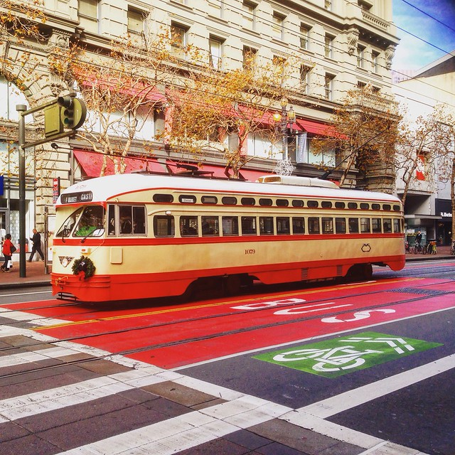 San Francisco - Powell Street cable car