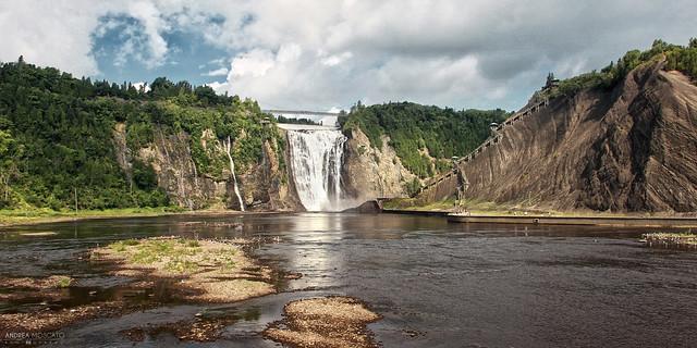Montmorency River Waterfalls - Québec City (Québec, Canada)
