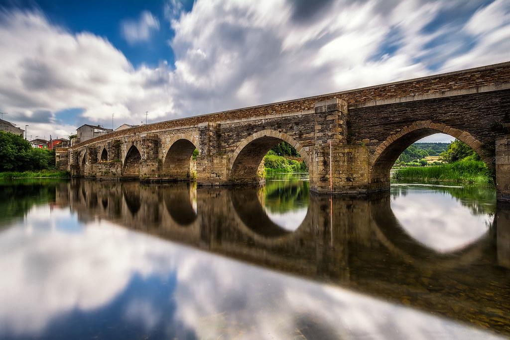 Resultado de imagen de puente romano lugo