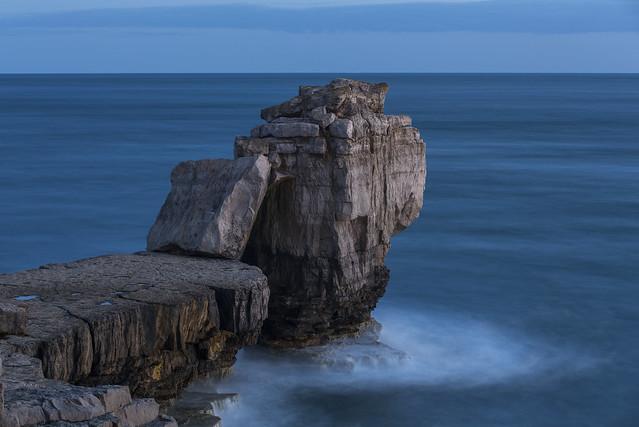 Pulpit Rock after sunset