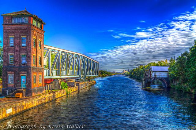 The Barton Swing Aqueduct (Open)
