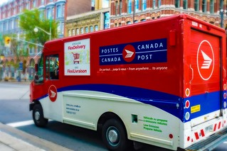 Canada Post Delivery Truck | by Obert Madondo